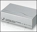 ATEN VS92A :: Video Splitter, 2x 1, 350 MHz, metal, 65 m
