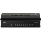 TRENDnet TE100-S8 :: 8-Port 10/100Mbps GREENnet Switch