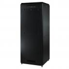 MIRSAN MR.GTV22U61.01 :: Сървърен шкаф - 22U, D=1000mm, W=610mm, Черен, свободно стоящ, Versatile