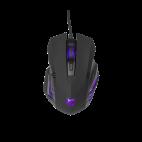 WHITE SHARK GM-5006:: Геймърска мишка Hannibal 2, 3200dpi, черна